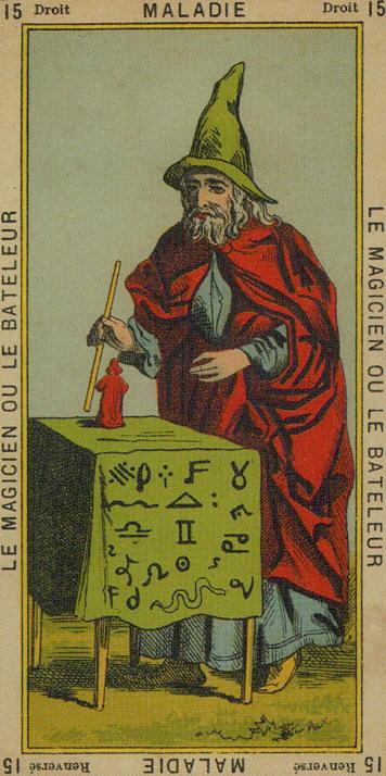 15 The Magician (The Juggler)