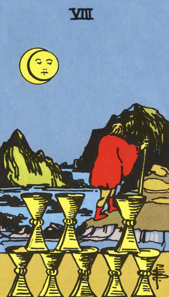 Image result for tarot rider waite cups