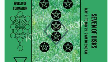 Traditional Divinatory Tarot, Seven of Disks