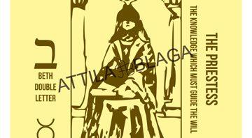 Traditional Divinatory Tarot, The Priestess