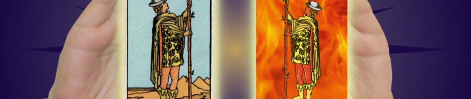 Karpathy-Smith Tarot Page of Wands