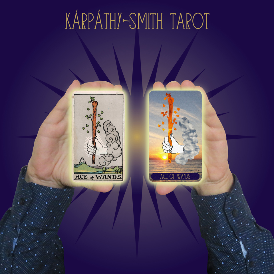 Karpathy-Smith Tarot Ace of Wands