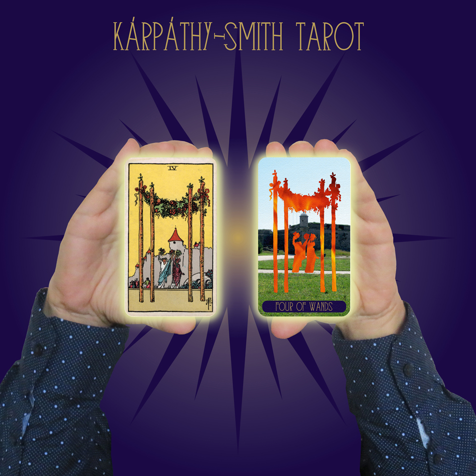 Karpathy-Smith Tarot Four of Wands