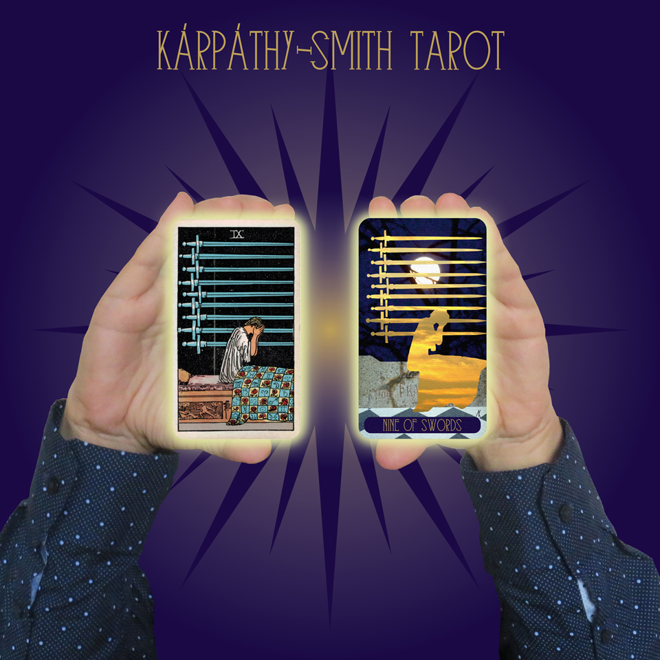 Karpathy-Smith Tarot Nine of Swords