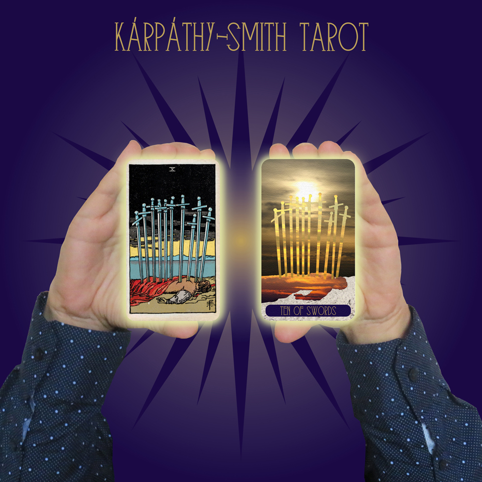 Karpathy-Smith Tarot Ten of Swords