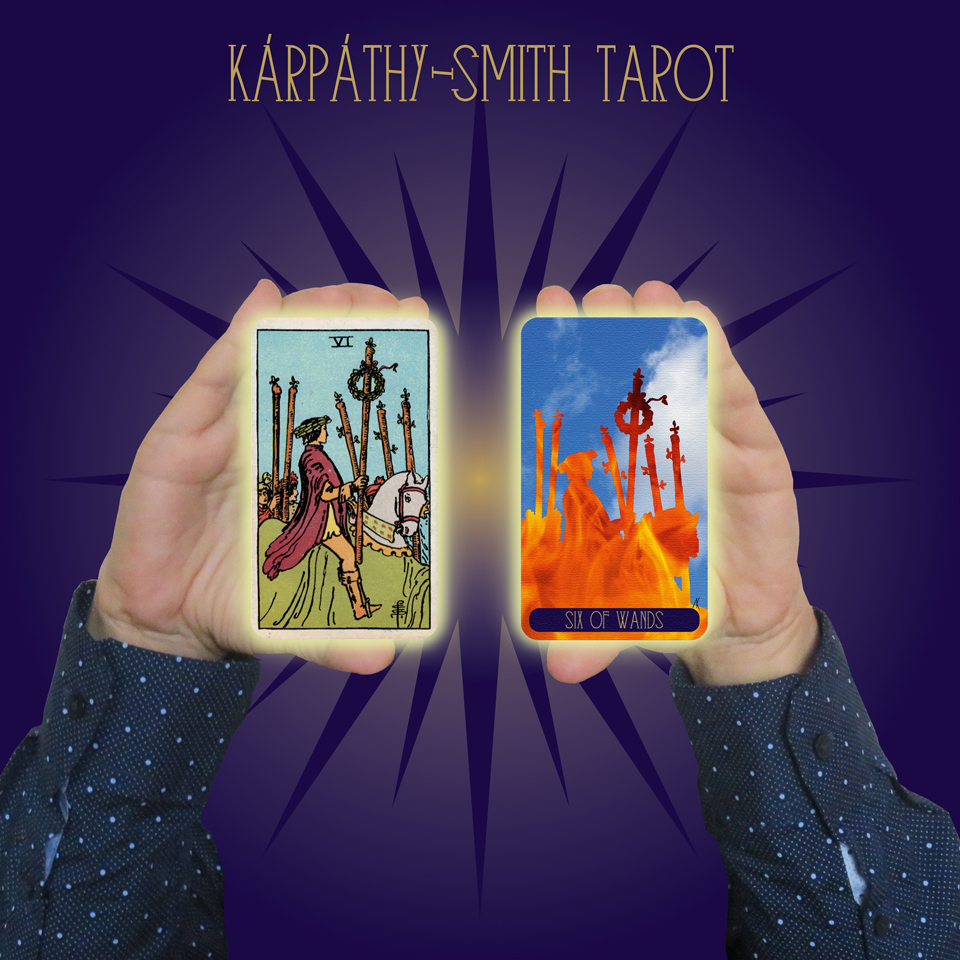 Karpathy-Smith Tarot Six of Wands