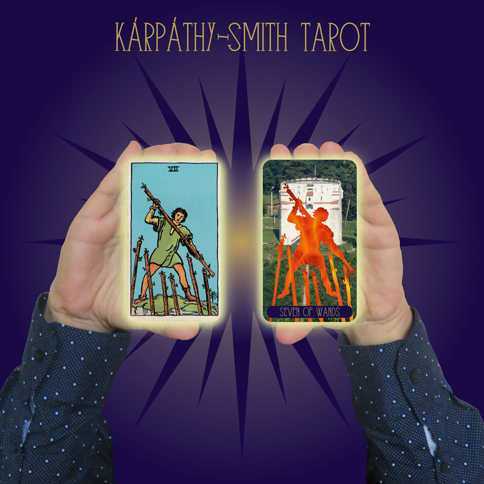 Karpathy-Smith Tarot Seven of Wands