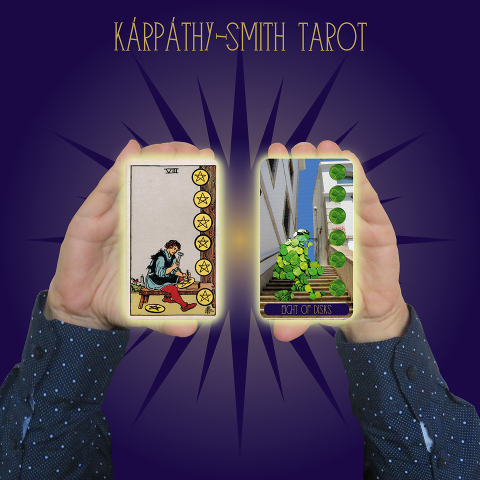 Karpathy-Smith Tarot Eight of Disks