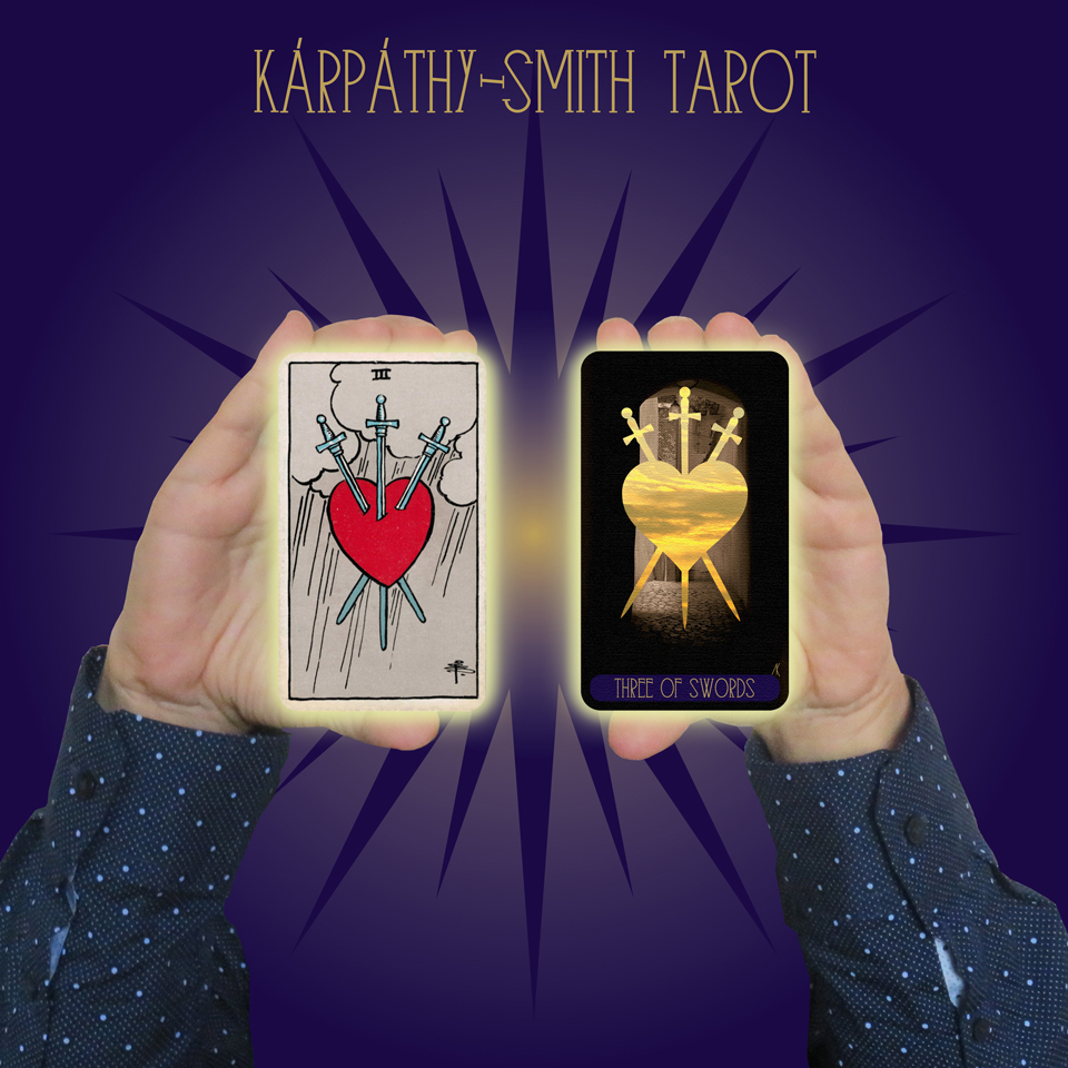 Karpathy-Smith Tarot Three of Swords
