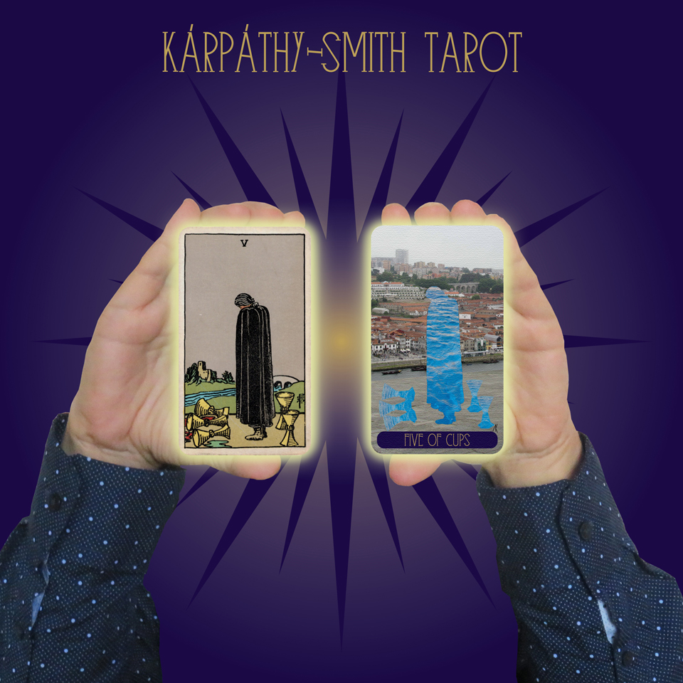 Karpathy-Smith Tarot Five of Cups