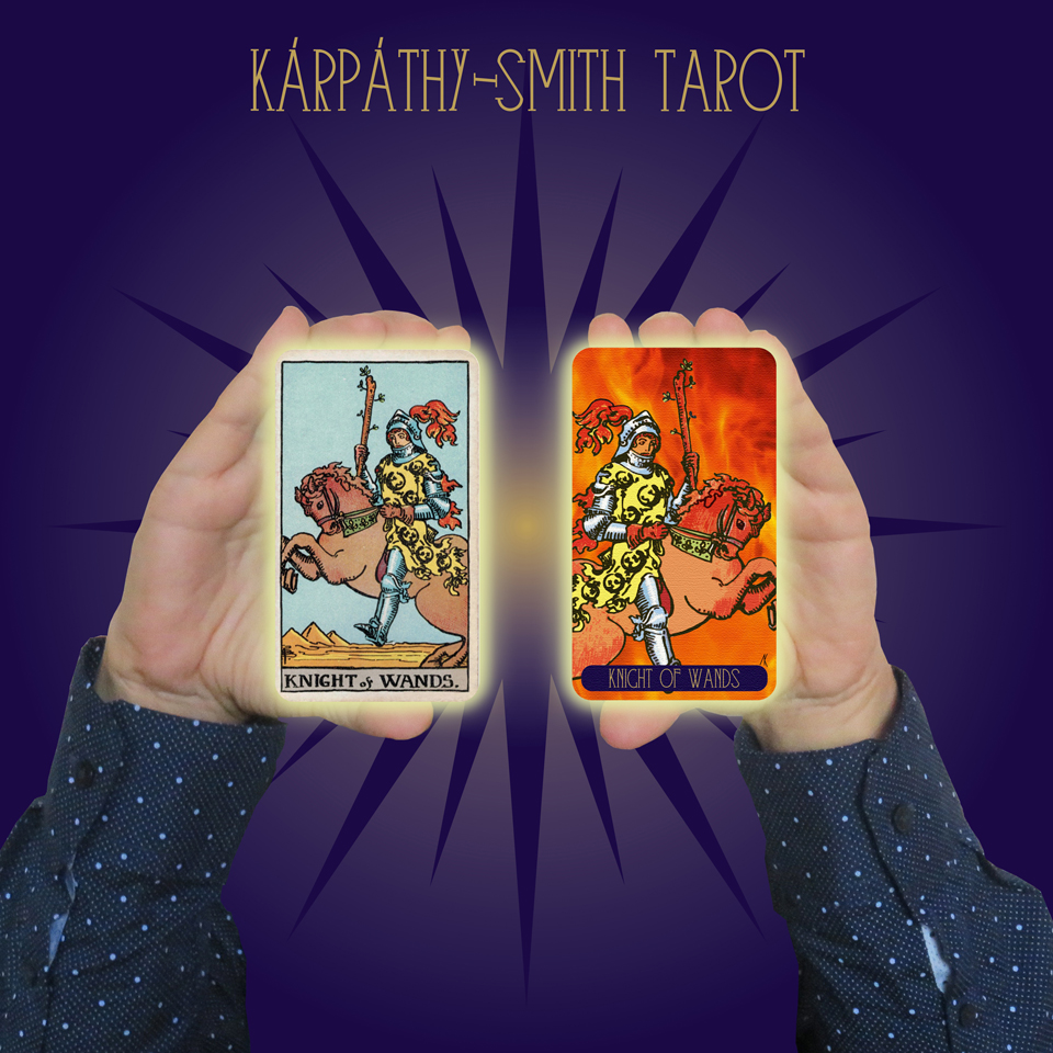 Karpathy-Smith Tarot Knight of Wands
