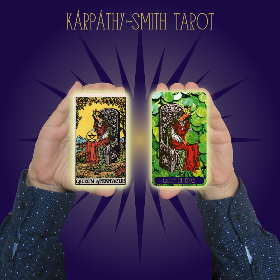 Karpathy-Smith Tarot Queen of Disks