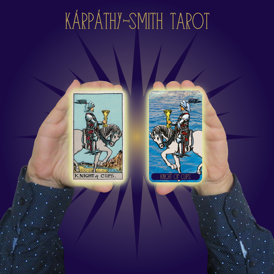 Karpathy-Smith Tarot Knight of Cups