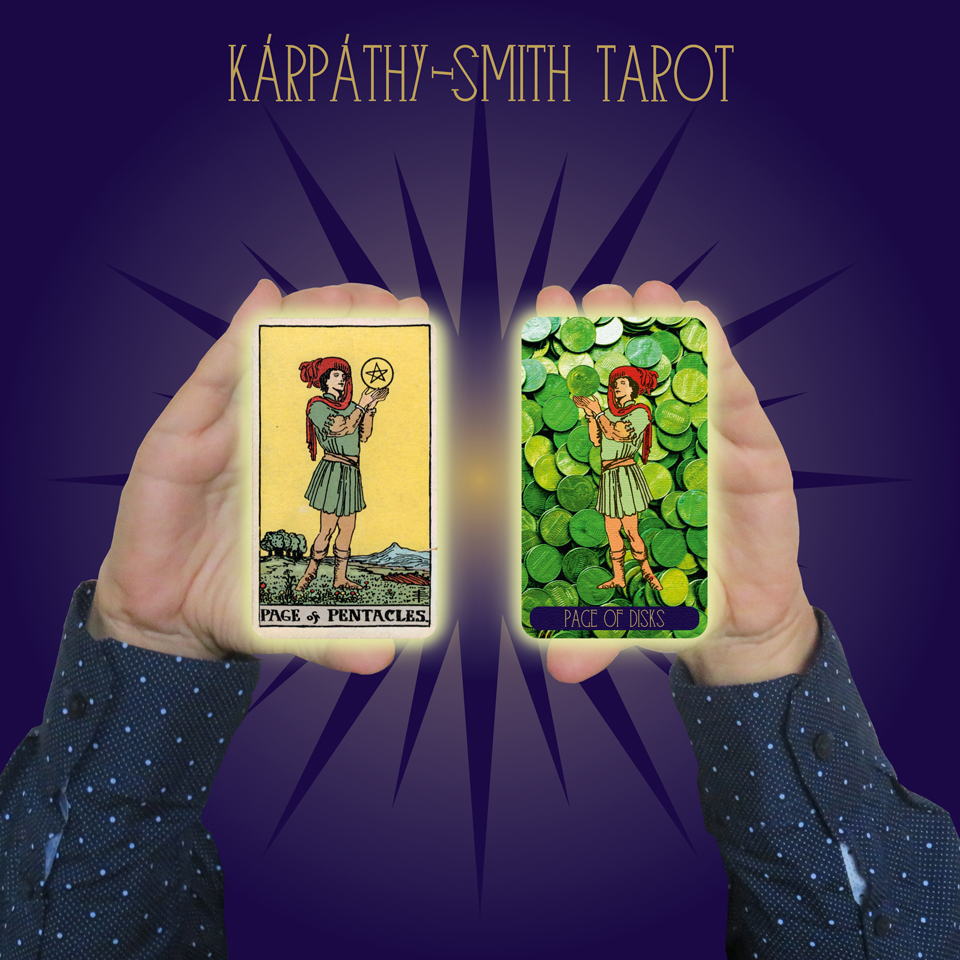 Karpathy-Smith Tarot Page of Disks