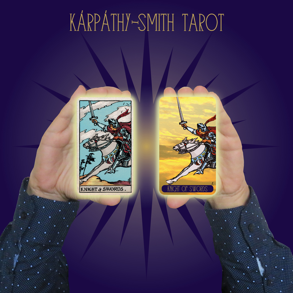 Karpathy-Smith Tarot Knight of Swords
