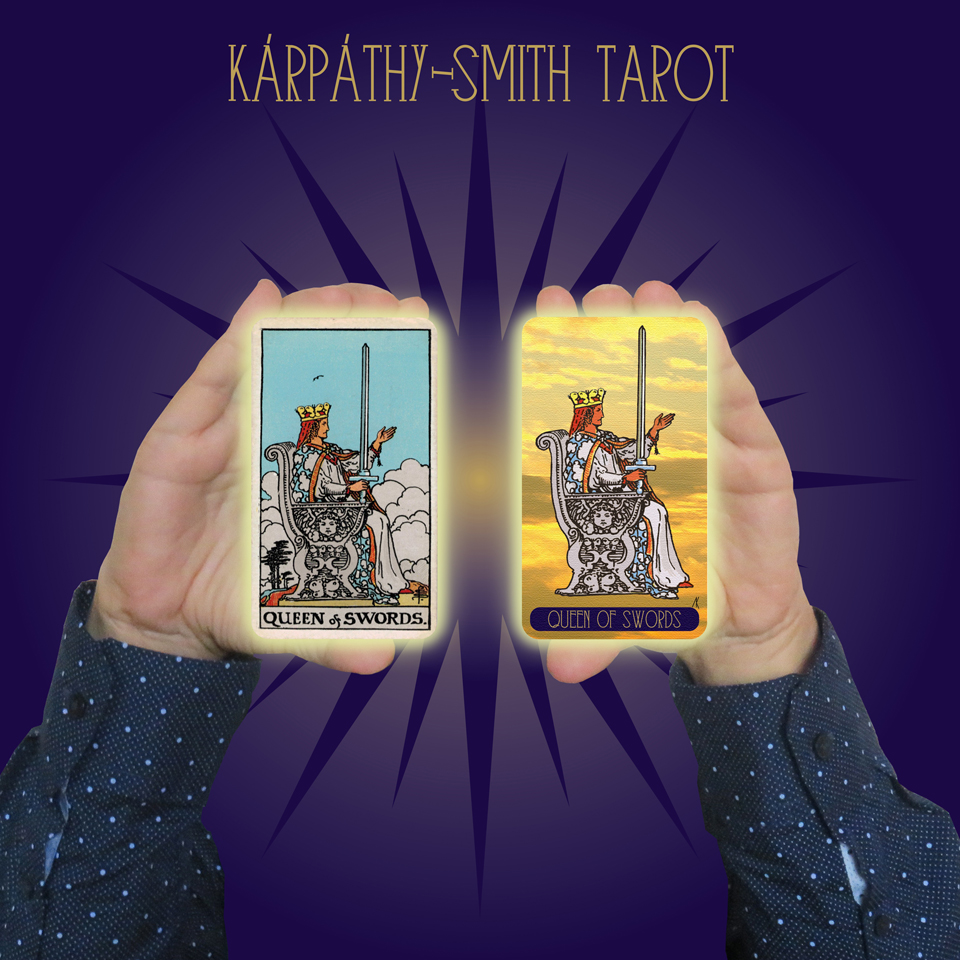 Karpathy-Smith Tarot Queen of Swords
