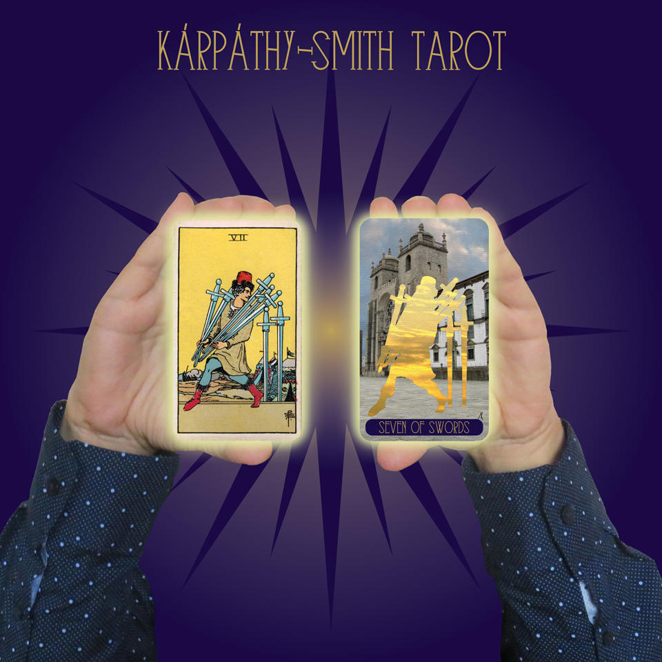 Karpathy-Smith Tarot Seven of Swords